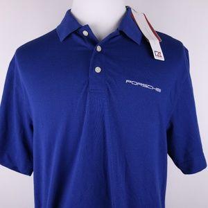 NWT Men's Cutter & Buck Poli Shirt * XL * Porche